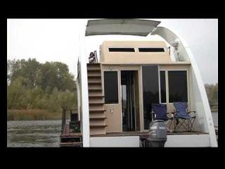 Плавучий Дом Houseboat www.skorost-tv.ru .www.плавдом.рф