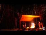 Зимняя ночёвка в лесу (12inchstudio)