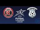 UEFA Futsal Champions League | Grupo D | Jornada 3 | Kairat Almaty 4-2 FK Era-Pack Chrudim