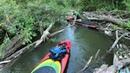 Сплав с препятствиями на SUP board по реке Казанка