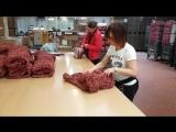 Контроль качества и упаковка еврочехлов . Фабрика GA.I.CO Корпоративный выезд компании Еврочехол на фабрику. Италия 2018.