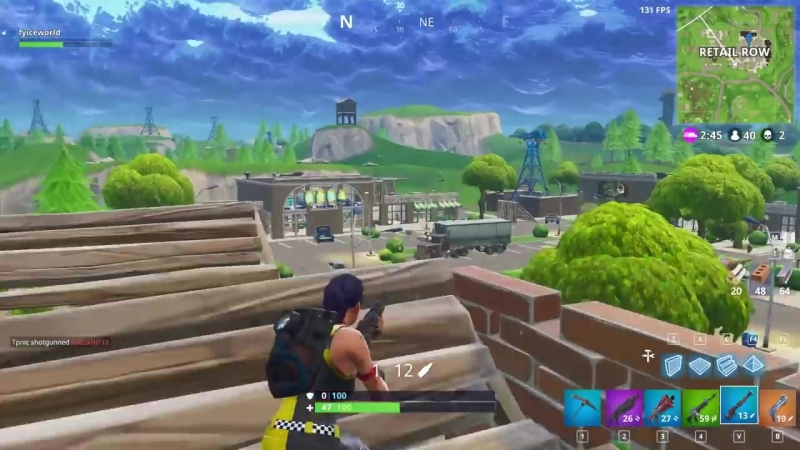 [Arikadou] when you forget your Chug Jug but you need to snipe in Fortnite