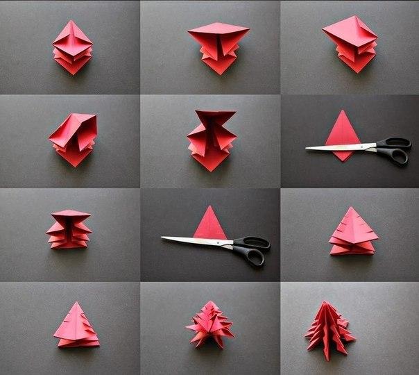 Оригами к Новому Году