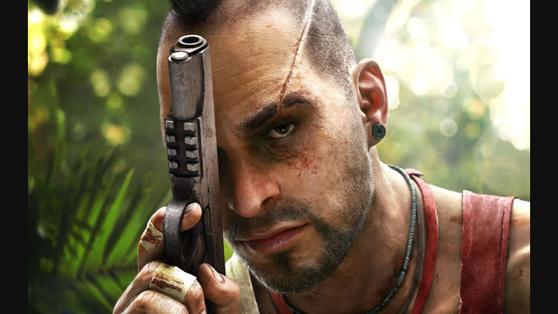 Far Cry 3 болтаем, поля наркоты, огнмёт, человек в белом