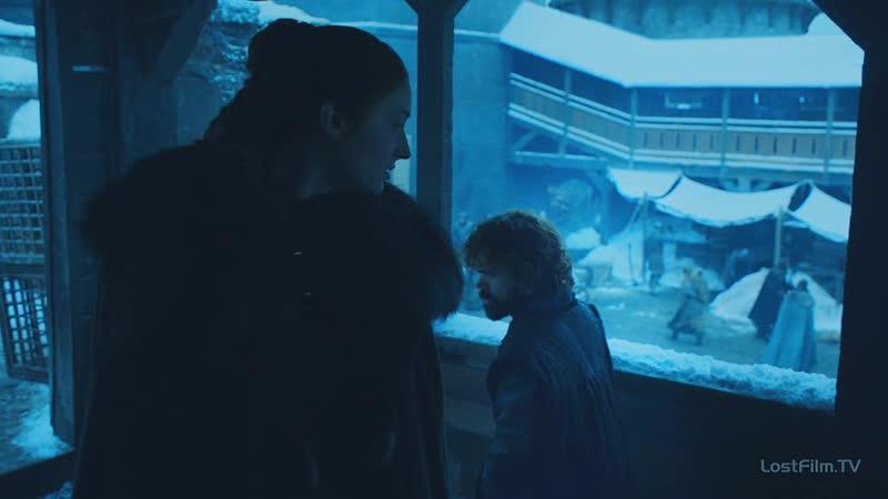 Санса и Тирион / Game of Thrones   8.01