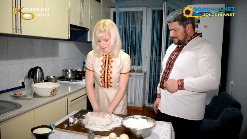 Суботня кухня готуємо полтавські галушки