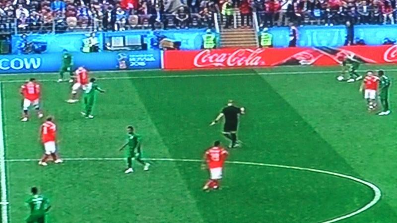 Чемпионат мира Соуд Оравия и сб Россий. мы победили счётом 5-0