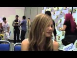 » Хлоя Грейс Моретц (Морец) — San Diego Comic-Con 2009 Kick-Ass Interview. #2 #CMN