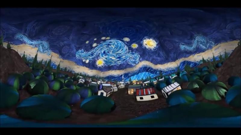 Starry Night Vincent van Gogh смотреть онлайн без регистрации