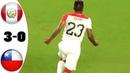 Peru vs Chile 3-0 | Resumen Goles | Amistosos 2018