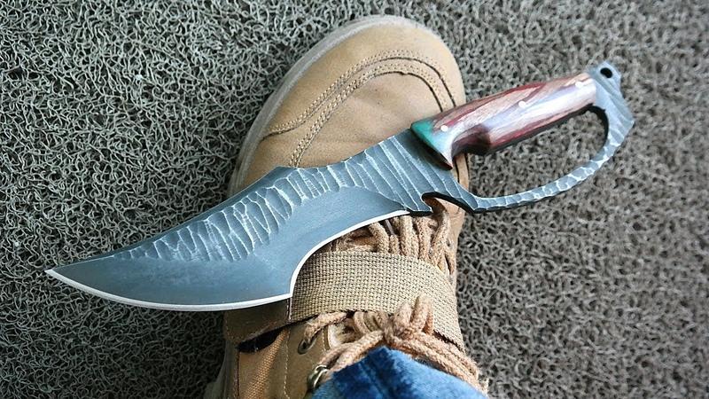 그냥 멋있는 칼만들기 Knife Making with Hand Guard