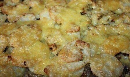 Картошечка по-французски