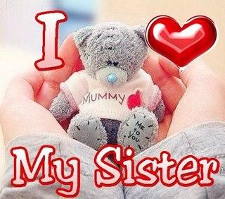 картинка сестренке любимой