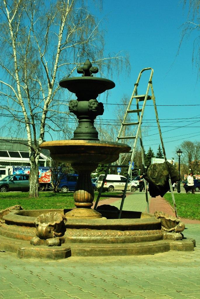 фонтан в Миргороді