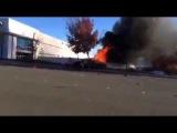 Авария с Полом Уокером (Paul Walker) Первые секунды после трагедии