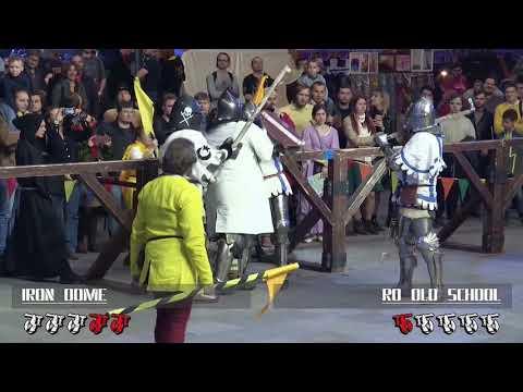 Dynamo Cup 2018 B 5vs5 12fight Iron Dome vs RO Old School