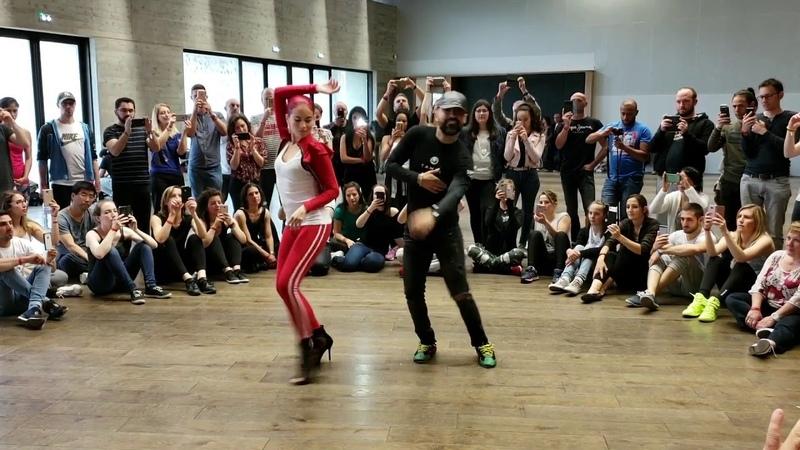 Танцевальное видео хулиганство!! Угар полный Встречайте El Tiguere and Maria Ramos