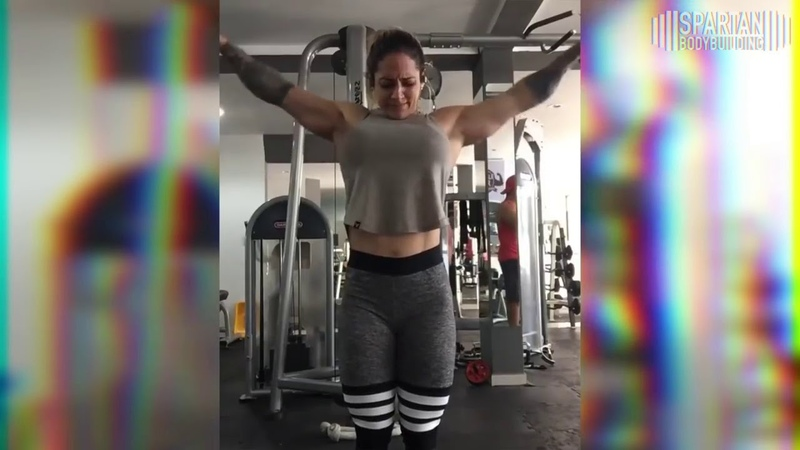 Hulda Lopez workout Spartan Bodybuilding