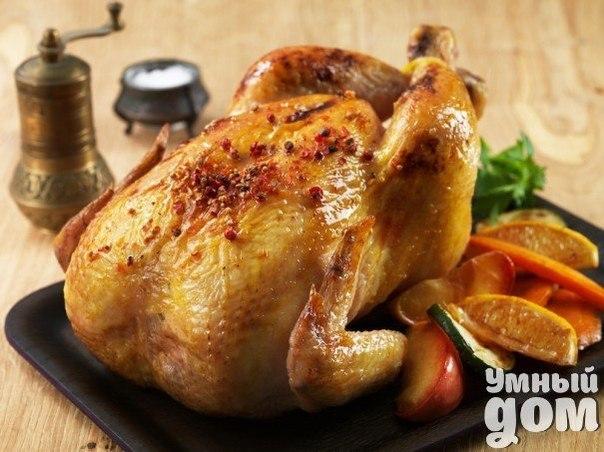 🍗Как зажарить курицу в два раза быстрее🍗 Зачем ждать больше часа, если вы можете сократить время на зажарку курицы почти в два раза? При этом, секрет быстрого приготовления курицы прост, как всё гениальное: надо всего лишь предварительно нагреть сковороду, в которой она будет готовиться. Хорошо прогретая сковорода обеспечивает приготовление нижней части курицы в то же время, пока, за счёт жара от духовки, запекается верхняя. Иначе курица будет медленно готовиться, начиная с верхней части, и…