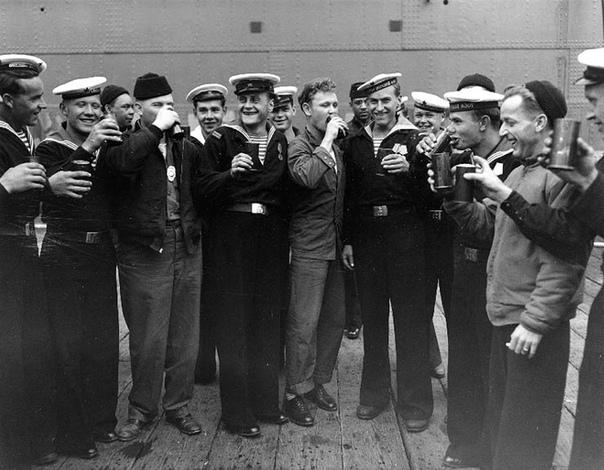 Фотография 15 августа 1945 года
