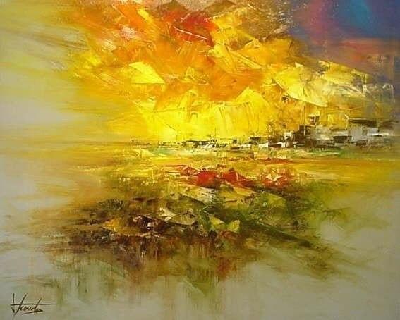 Экспрессивные работы испанского художника Josep Teixido