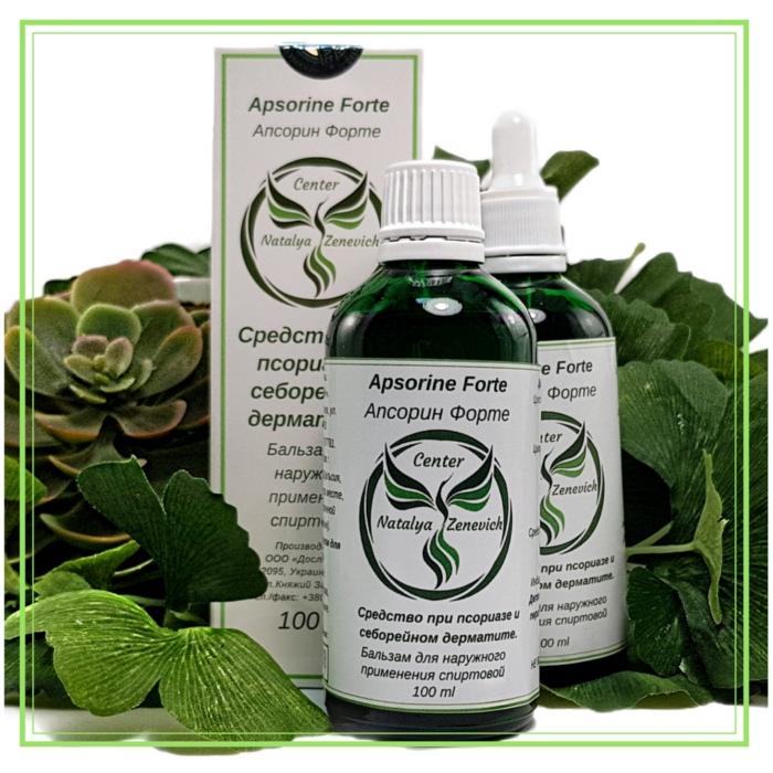 Апсорин Форте помогает против себорейного дерматита