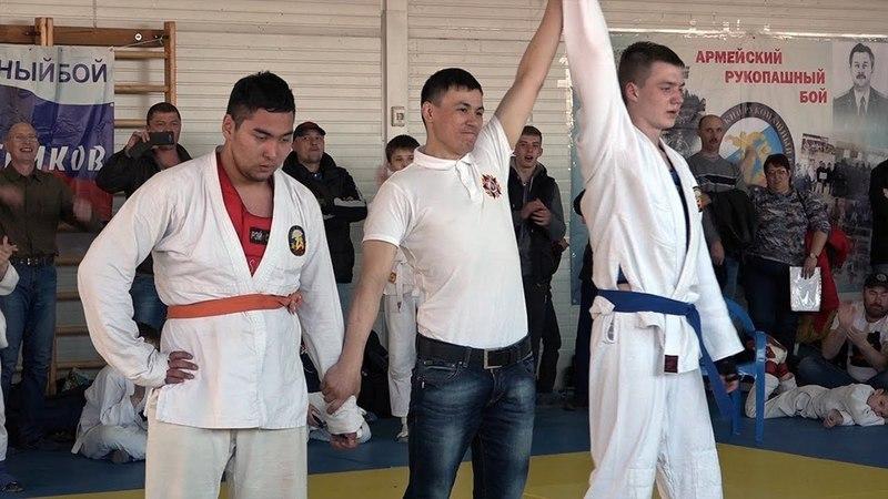 Чемпионат ОАБИИ по армейскому рукопашному бою посвященный Герою России Александру Печникову