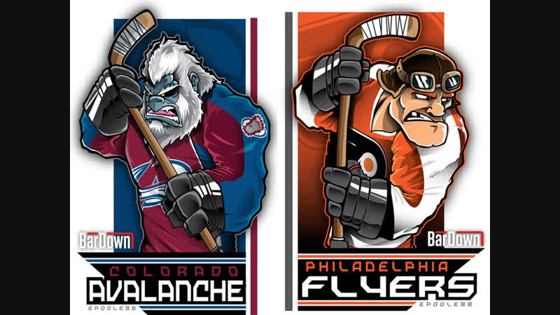 Colorado Avalanche vs Philadelphia Flyers