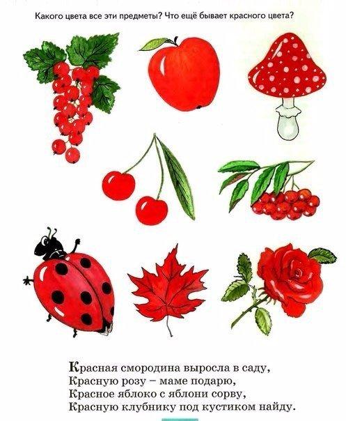 Стихи про красный цвет стихи