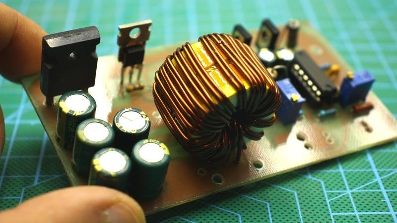 Импульсный стабилизатор тока и напряжения своими руками