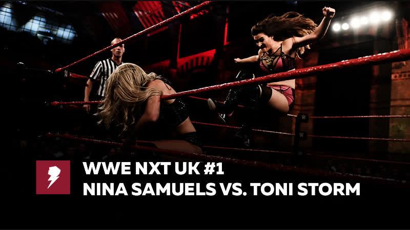 [My1] Рестлинг на Бейкер Стрит (17.10.2018) - Нина Самуэльс против Тони Шторм