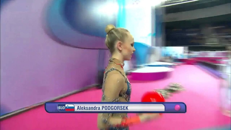 Aleksandra Podgoršek SLO Ball - European Championships 2016