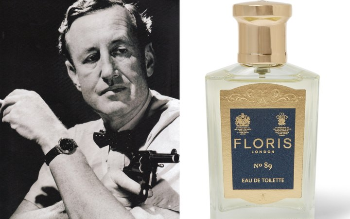 TGV Ian Fleming's 007 Luxury Fragrance Of Choice, The No.89 From Floris Of London