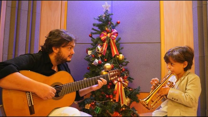 Silent Night - Yamandu e Benício desejam um Feliz Natal
