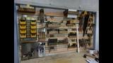 Универсальная панель для инструментов на стене. eybdthcfkmyfz gfytkm lkz bycnhevtynjd yf cntyt.