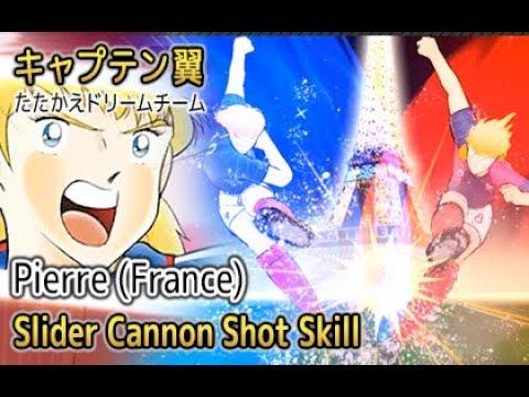 Captain Tsubasa Dream Team - Slider Cannon Shot (Rare Skill)