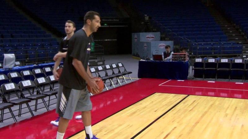 NBA Behind the Scenes: Peja and Nik