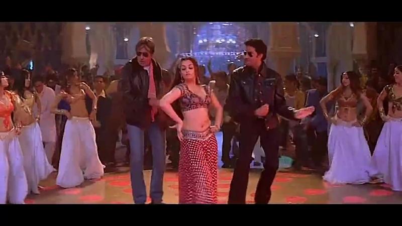 Bunty Aur BabliБанти и Бабли - Kajra Re ( Айшвария Рай Aishwarya Rai Амитабх Баччан Amitabh Bachchan Абхишек Баччан Abhis
