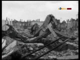 Уникальные съемки Полтавы 1944 год
