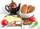 Мини-багеты с жареным луком