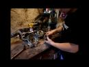 Разборка мотора (чистка мотора, подготовка мотора к сборке)