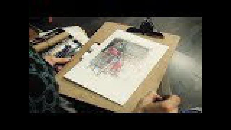 Ольга Иордан о рисовании по школе ВХУТЕМАСа Третья часть о цветном рисунке смотреть онлайн без регистрации