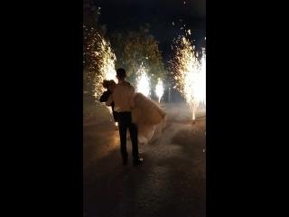 18.09.18 Свадебный салют - апогей всего торжества
