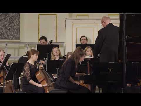 190307 Сен Санс Концерт №2 для фортепиано с оркестром солистка Анна Хорошавина