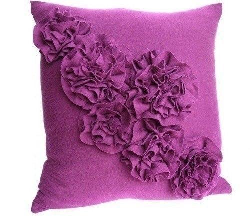 Декор подушки своими руками (7 фото) - картинка