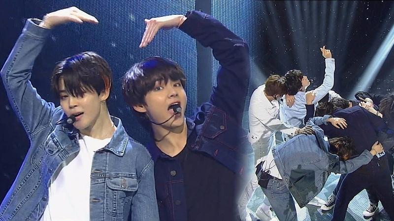 20180610 《POWERFUL》 BTS(방탄소년단) - FAKE LOVE @인기가요 Inkigayo