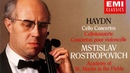 Haydn The Cello Concertos recording of the Century Mstislav Rostropovich Brown