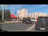 ДТП в Самаре 18 июня 2013 г. Nissan GT-R и Lexus