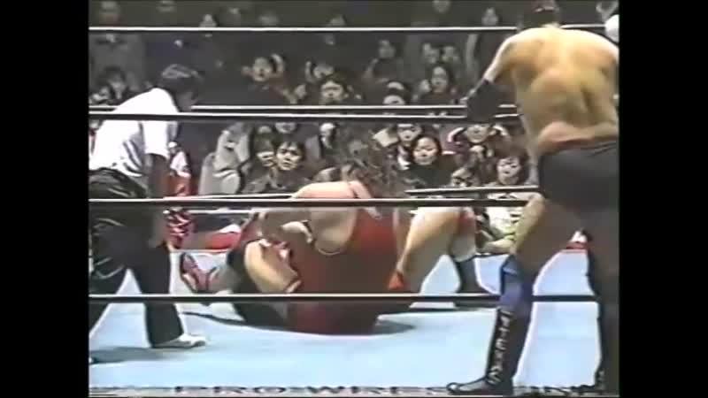 1996.01.24 - Stan Hansen/Gary Albright vs. Toshiaki Kawada/Akira Taue [c]