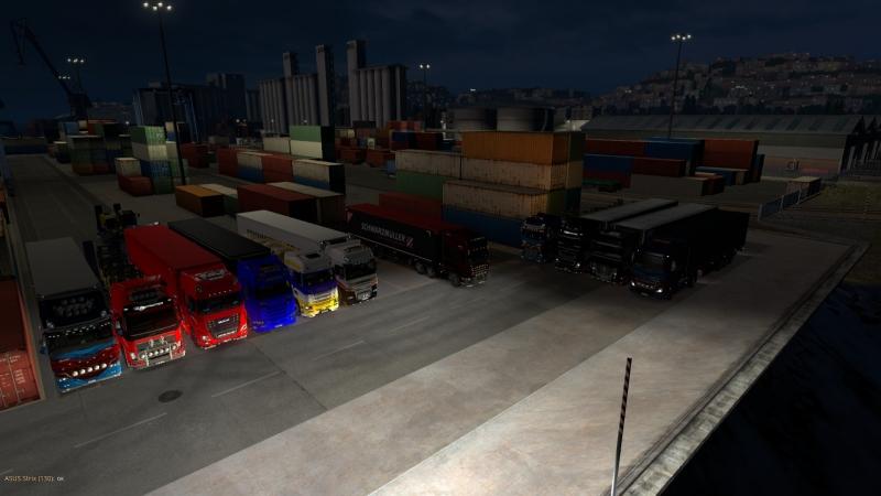 Конвой по Italia в Euro Truck Simulator 2 от СибАвтоТранс